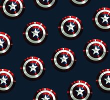 captain america shield by amyskhaleesi