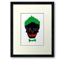 suicide squad - joker Framed Print