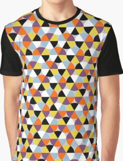 Colorful circle pattern, abstract geometric print Graphic T-Shirt