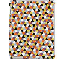 Colorful circle pattern, abstract geometric print iPad Case/Skin