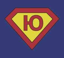 Superman alphabet letter by Stock Image Folio