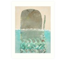 into the wild the whale Art Print