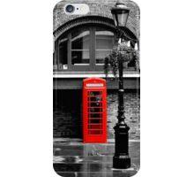 London red phone box  iPhone Case/Skin