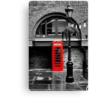London red phone box  Canvas Print