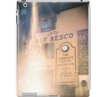 Cafe Al Fresco iPad Case/Skin