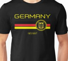 Euro 2016 Football - Germany (Away Black) Unisex T-Shirt