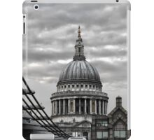 St Paul's Cathedral Monochrome iPad Case/Skin