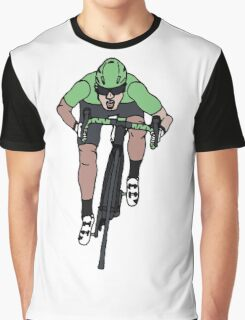 "Mark Cavendish  -  ""Le Maillot Vert"" Graphic T-Shirt"