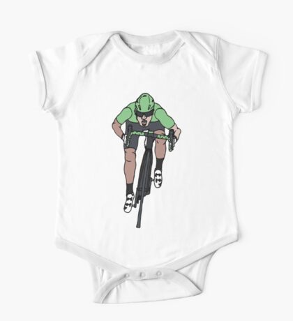 "Mark Cavendish  -  ""Le Maillot Vert"" One Piece - Short Sleeve"
