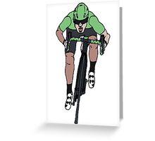 "Mark Cavendish  -  ""Le Maillot Vert"" Greeting Card"