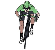 "Mark Cavendish  -  ""Le Maillot Vert"" Photographic Print"
