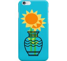 Sunflowers In A Vase  iPhone Case/Skin
