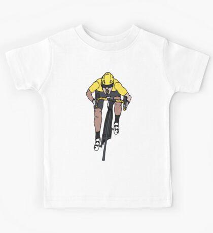 "Mark Cavendish  -  ""Le Maillot Jaune"" Kids Tee"