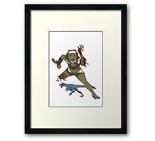 time travel nun coochie Framed Print