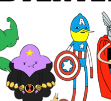Aventers (Adventure time Avengers) Sticker
