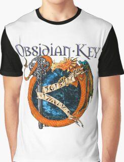 Obsidian Key - SLY Dragon - Progressive Rock Metal Music - (Epic Style) - FD Graphic T-Shirt