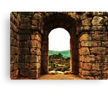 ancient archway   Canvas Print