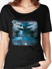 LOUD! - Progressive Rock Metal music album from Obsidian Key - Official (Branded)  Women's Relaxed Fit T-Shirt