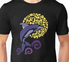 Cool Fun Leaping Dolphin Art Unisex T-Shirt