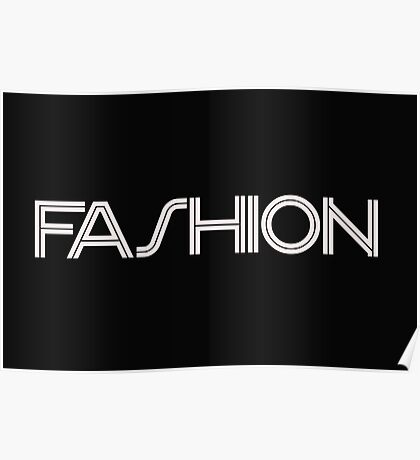 Fashion Collection Poster