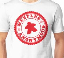 Meeples Anonymous Red Unisex T-Shirt