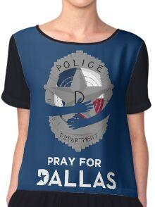 Pray for Dallas Chiffon Top