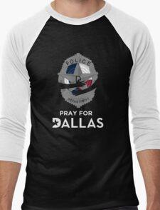 Pray for Dallas Men's Baseball ¾ T-Shirt