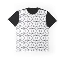 Sacred geometry pattern in black and white Graphic T-Shirt