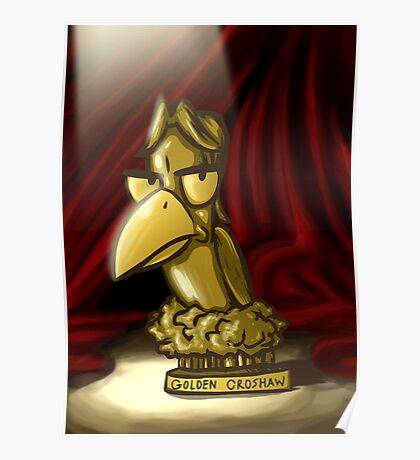 The 1st Annual Golden Croshaw Award Trophy Poster