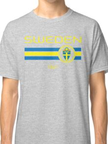 Euro 2016 Football - Sweden (Away Black) Classic T-Shirt