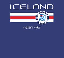 Euro 2016 Football - Iceland (Home Blue) Unisex T-Shirt