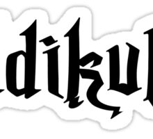 Riddikulus! Sticker