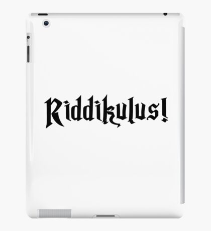 Riddikulus! iPad Case/Skin