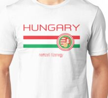 Euro 2016 - Hungary (Away White) Unisex T-Shirt