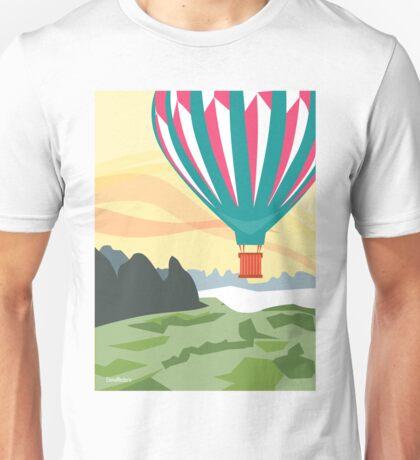 Paseo en globo Unisex T-Shirt