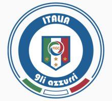Euro 2016 Football - Team Italia Kids Tee
