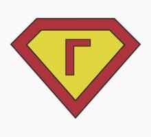 Superman alphabet letter Kids Clothes