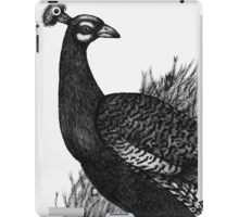 Long Tailed Peacock iPad Case/Skin