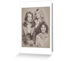 Charlie's Angels Greeting Card