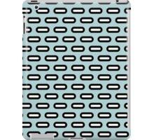 Abstract geometric retro pattern print iPad Case/Skin