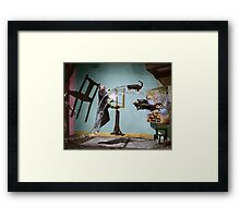 Dali Atomicus - by Philippe Halsman - colored Framed Print