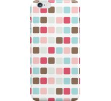 Wall of squares iPhone Case/Skin