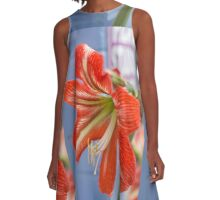 Tania's Happy Hippy plants - Hippeastrum A-Line Dress