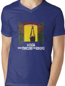 Laughing Sebastiane Mens V-Neck T-Shirt