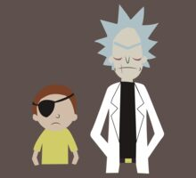 Evil Rick and Morty [PLAIN] by coralful