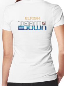 Eflish Jumper Women's Fitted V-Neck T-Shirt