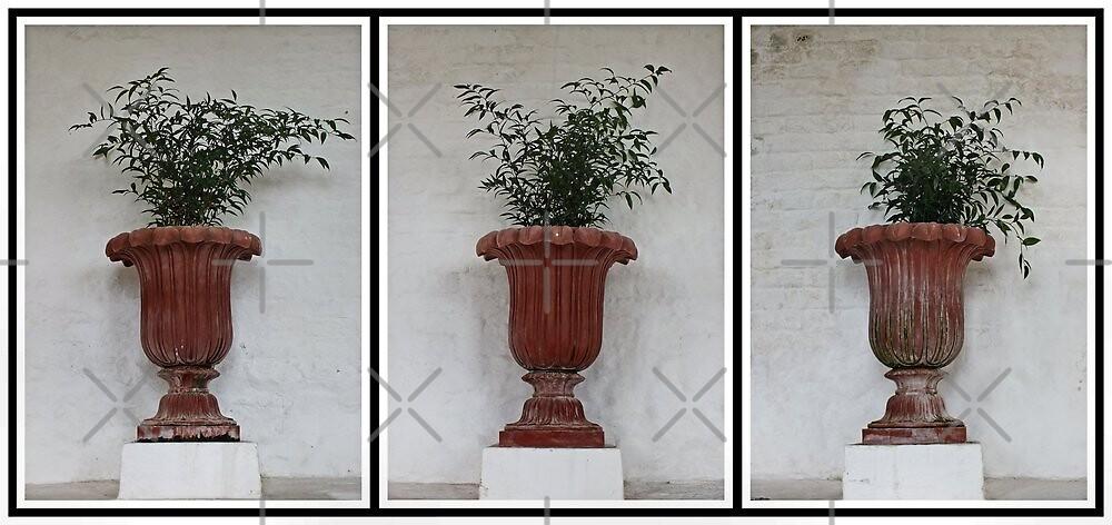 Tre vasi di fiori by Yampimon