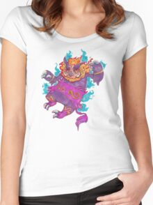 Who's that poke'mon?! Women's Fitted Scoop T-Shirt