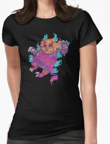 Who's that poke'mon?! Womens Fitted T-Shirt