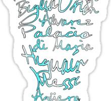 Argentine World Cup Squad 2014 Sticker